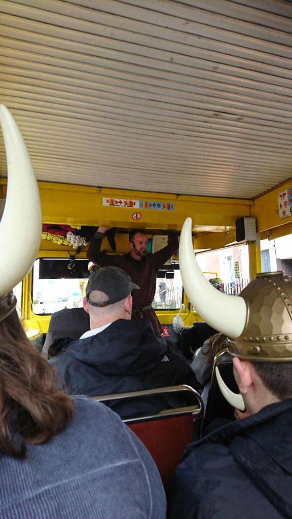 When Personal-a-Teas met The Viking Splash Tour