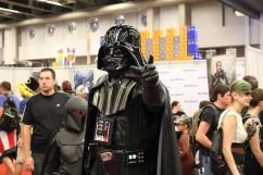 Cosplay de Dark Vador durant le Comiccon de Montréal 2016