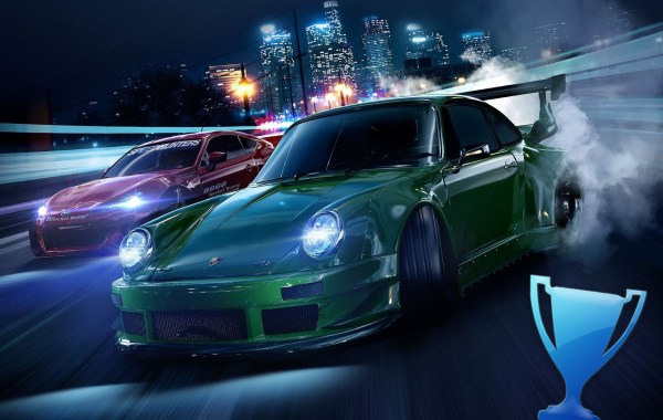 Trophée Platine Need for Speed (PS4)