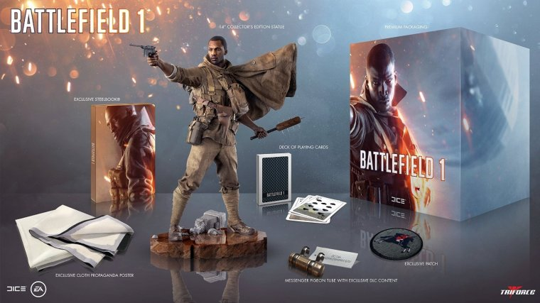 Edition Collector de Battlefield 1