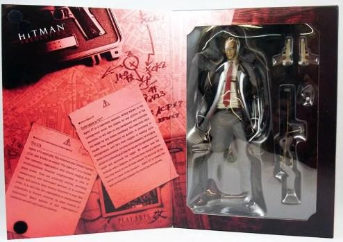 Unboxing de la figurine Play Arts Kai d'Hitman Absolution