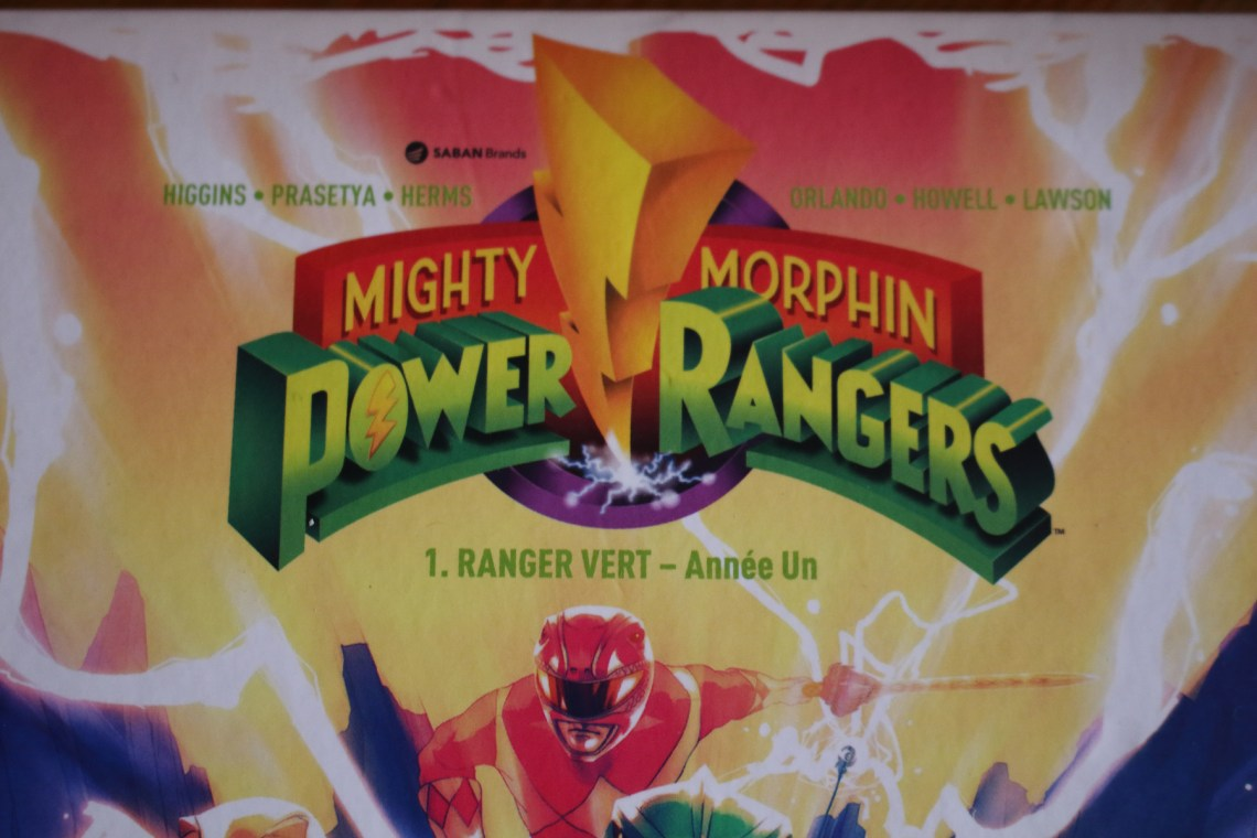 Critique du comic Mighty Morphin Power Rangers : Ranger Vert - Année Un