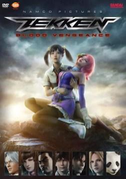 DVD de Tekken Blood Vengeance
