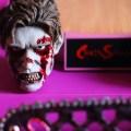 Tête de zombie et socle de la figurine VTS Chainsaw Girl