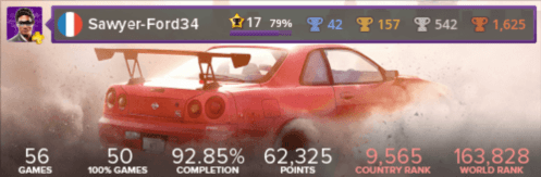 Trophée platine de Need for Speed: Payback