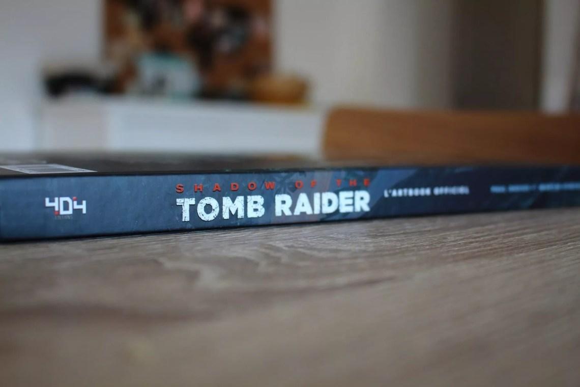 artbook officiel de Shadow of the Tomb Raider