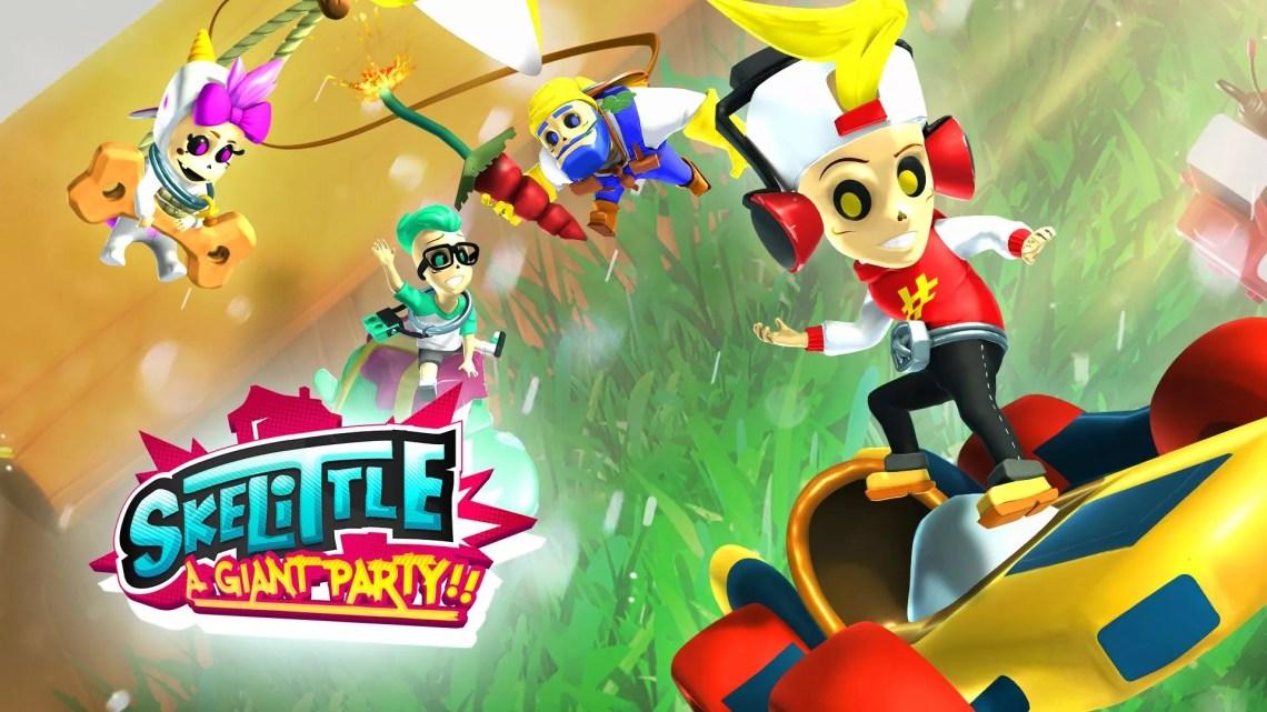 test de Skelittle: A Giant Party!!