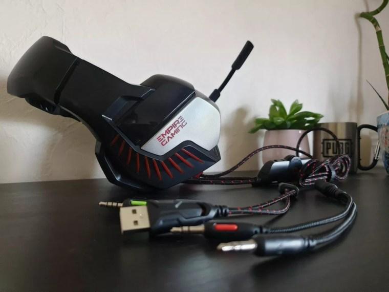 test du casque H1200 d'Empire Gaming