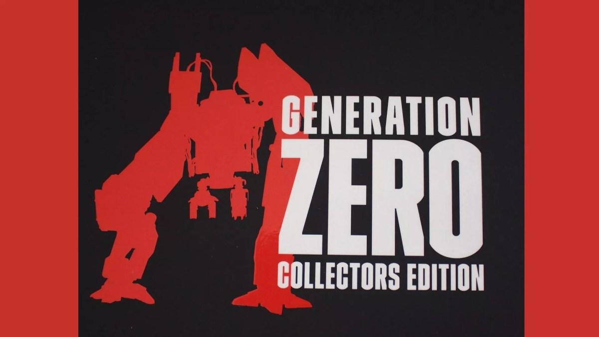 Focus sur l'édition collector de Generation Zero sur PS4 !