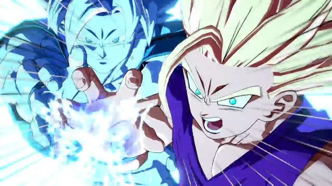 Gohan et Goku
