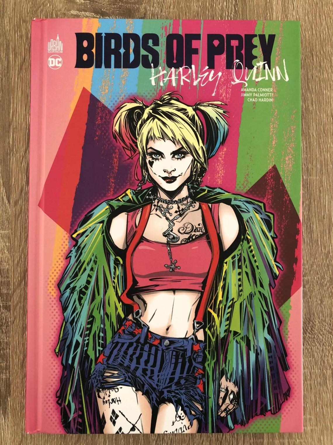 couverture bande dessinée Birds of Prey: Harley Quinn