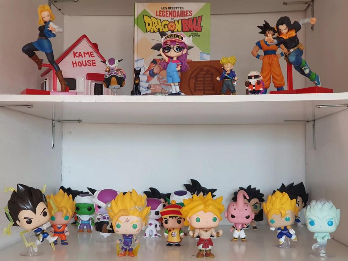 objets de collection Dragon Ball Z