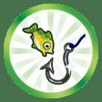 Trophée As de l'hameçon (Faire atteindre le plus haut niveau de la compétence Pêche à un Sim)