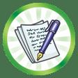 Trophée Belle plume (Faire atteindre le plus haut niveau de la compétence Ecriture à un Sim)