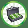 Trophée Criminel exceptionnel (Faire atteindre le plus haut niveau de la carrière criminelle à un Sim)