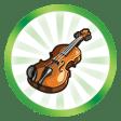 Trophée Franc archet (Faire atteindre le plus haut niveau de la compétence Violon à un Sim)