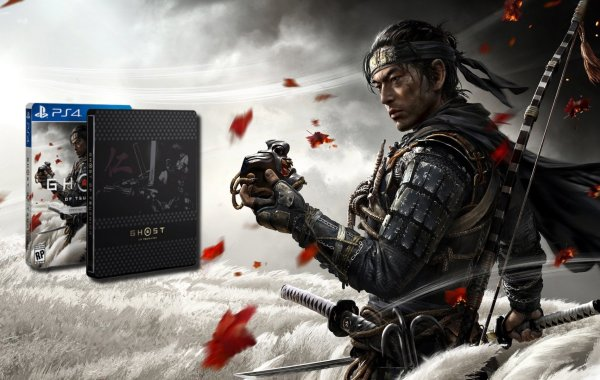 unboxing Ghost of Tsushima Édition Spéciale