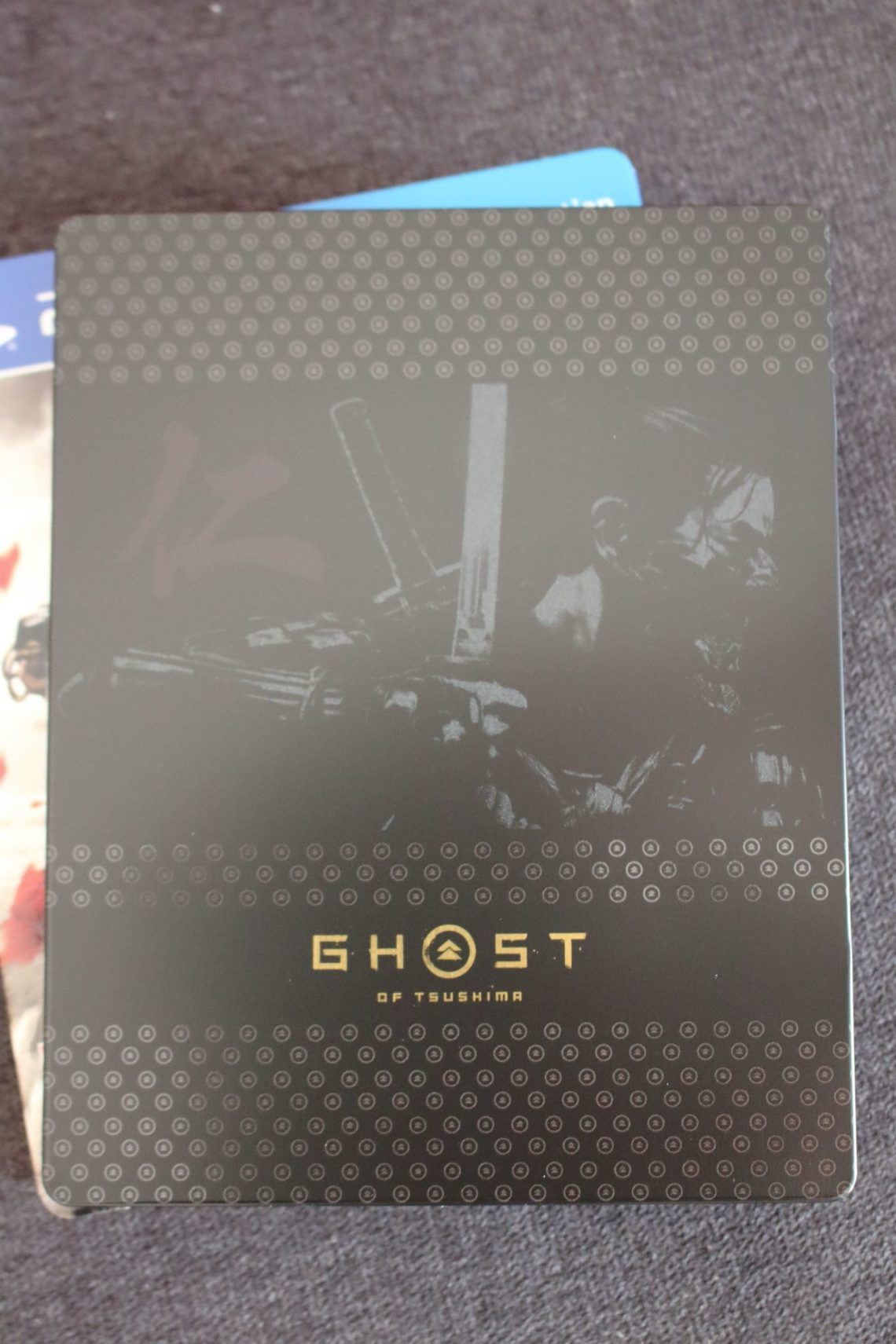 unboxing steelbook Ghost of Tsushima (PS4)