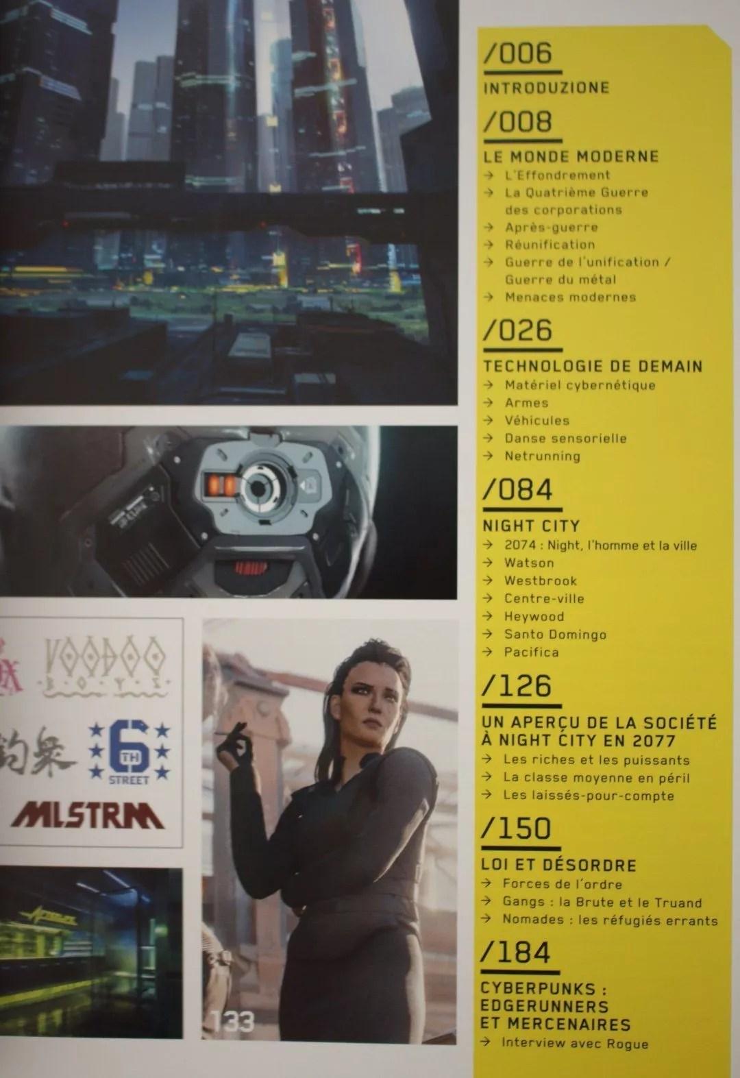 livre Cyberpunk 2077
