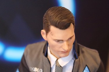 Unboxing figurine Connor The Negotiator VTS Toys (Detroit Become Human)