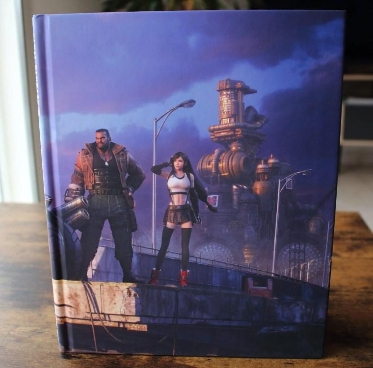 livre artbook Final Fantasy VII Remake