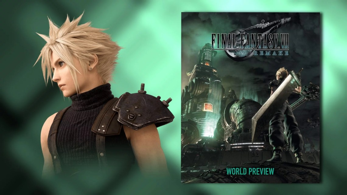 critique Final Fantasy VII Remake World Preview
