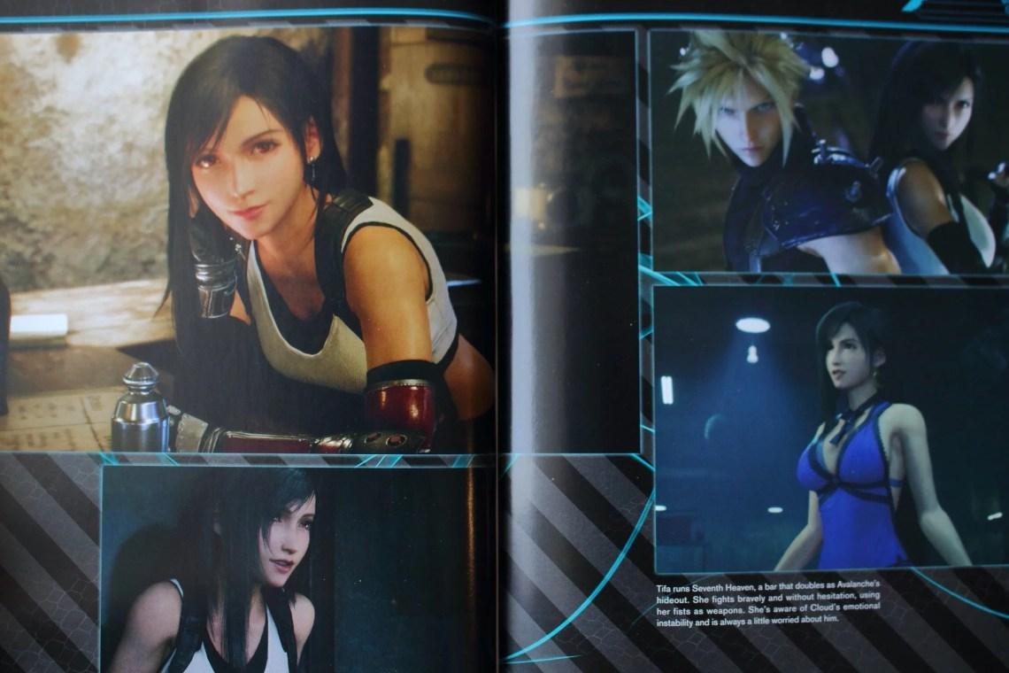 artwork Final Fantasy VII Remake World Preview Tifa