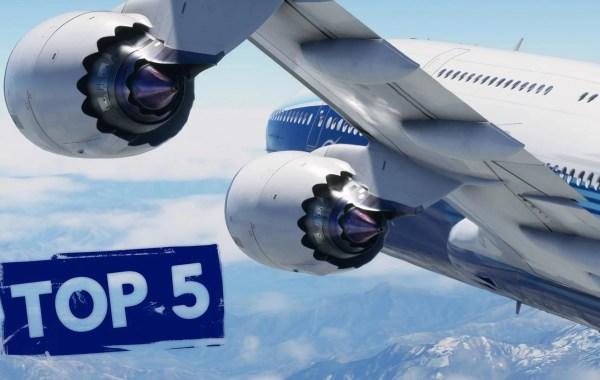Top 5 des meilleurs jeux vidéo de simulation de vol