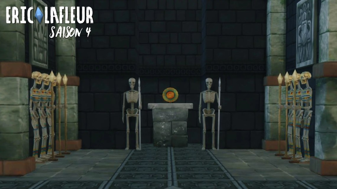 temple abandonné (série Sims 4 Eric Lafleur)