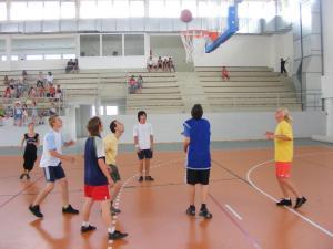 tanár-diák mérkőzés