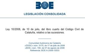 Codigo civil catalan sucesiones - Jesus Puente