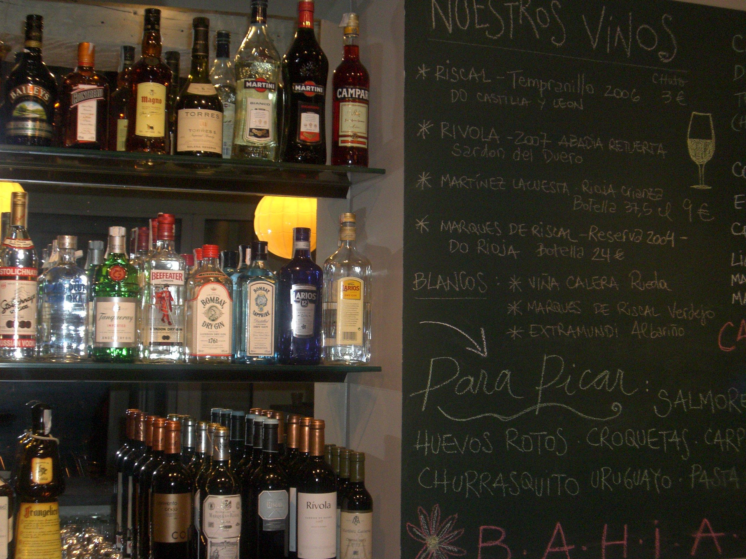 El bar del Bahiana Club