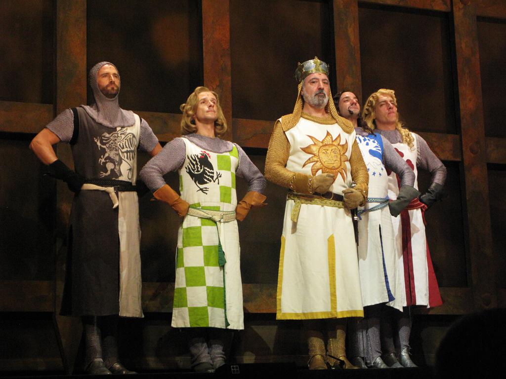El Rey Arturo y sus caballeros