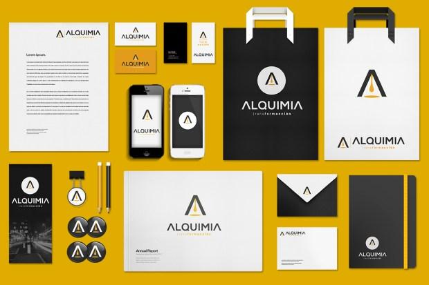 Diseño de la identidad corporativa de una consultora.
