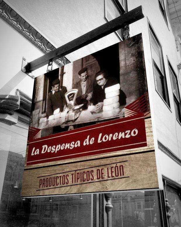 Diseño de varios elementos publicitarios para una tienda dedicada a la venta de productos gastronómicos regionales.
