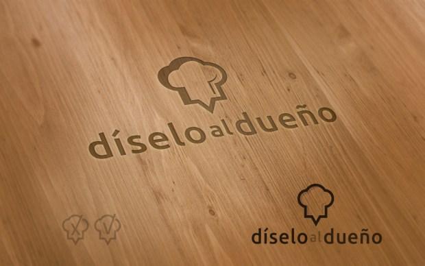 Diseño de la identidad corporativa de un empresa dedicada a recoger críticas gastronómicas.