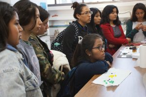 Outreach day for young girls – Development of Solar cells