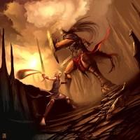 El día en que David vencio a Goliat.