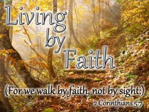 Living by Faith 2014