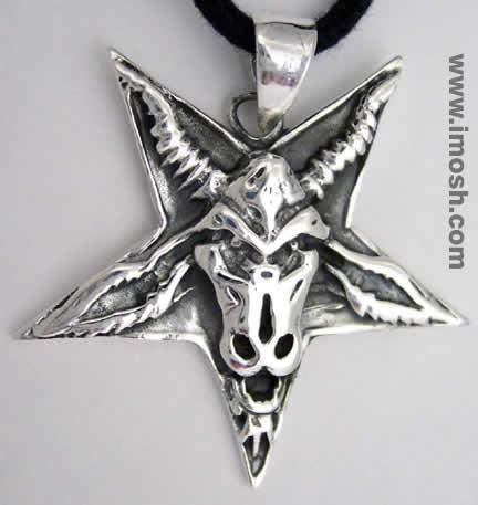 Upside down cross/Star - Antichrist (2/5)