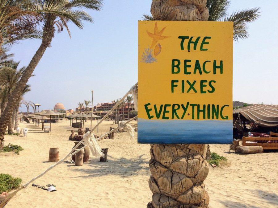 Marsa Alam, Egipt. Plaża naprawia wszystko