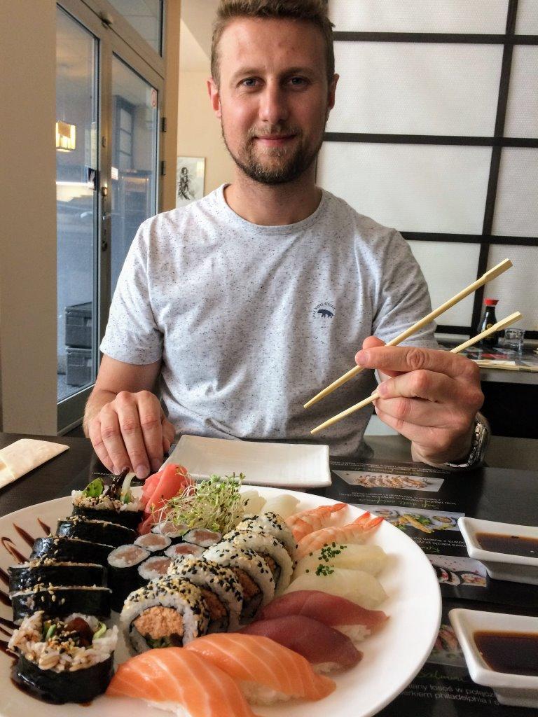 I love sushi Wrocław