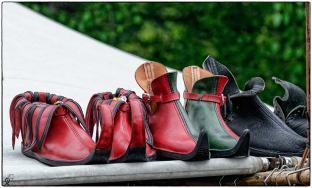hochmodernes Schuhwerk