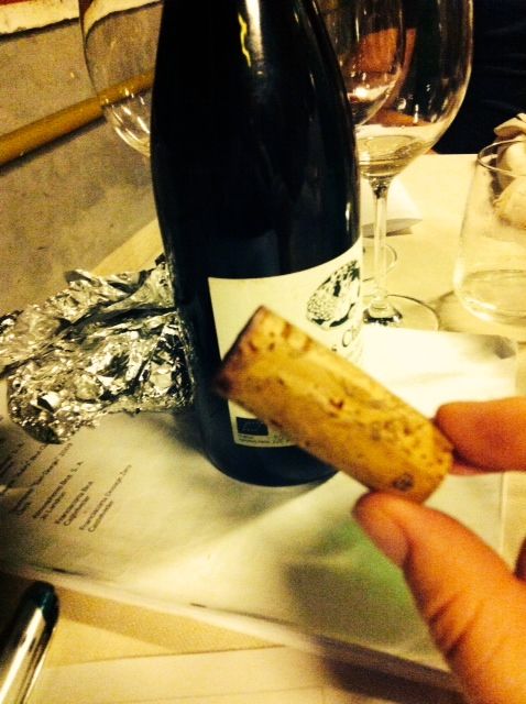 corked cork