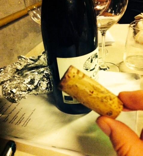 corked cork
