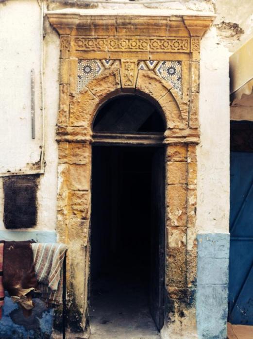 decorated door, Essaouira, Morocco