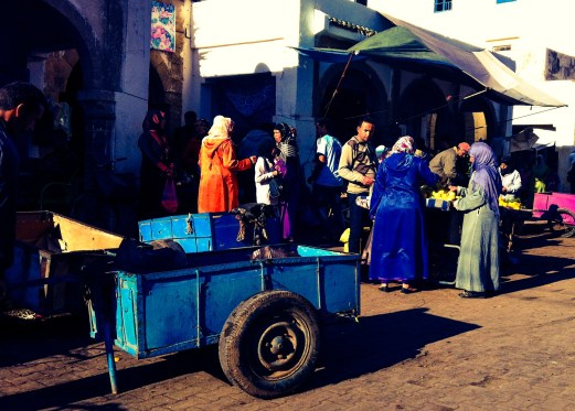 market stands, Essaouira, Morocco