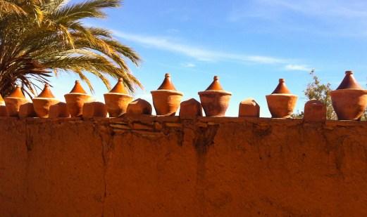 Aït Benhaddou clay pots