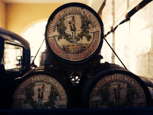 Bodega Lopez barrels