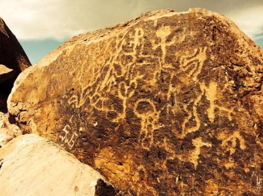 Uspallata petroglyphs 2